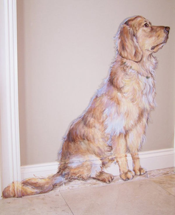 L.C. the Wonder Dog Mural