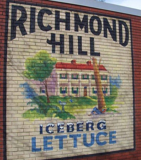 Richmond Hill Lettuce Label