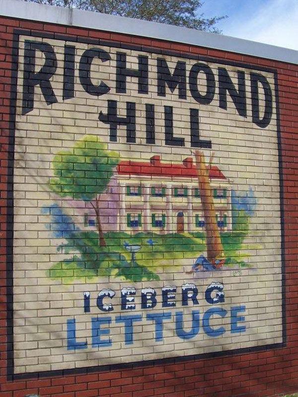 Richmond Hill Lettuce Label