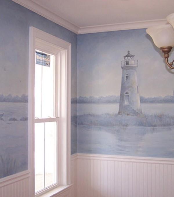 Cockspur Island Lighthouse Mural